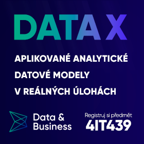 Data X – Studuj předmět jako na UC Berkeley … 4IT439